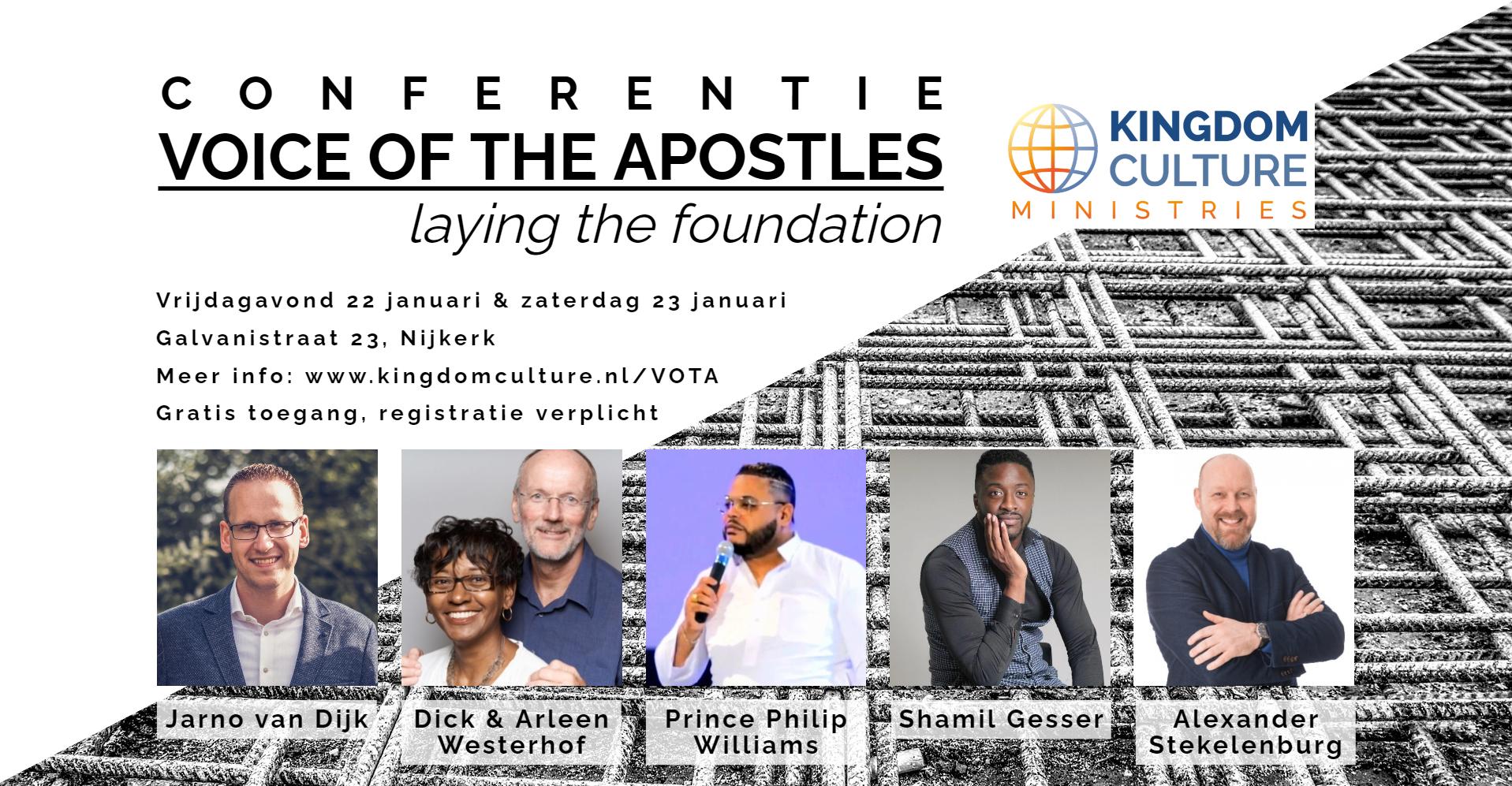 Conferentie Voice of the Apostles